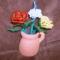 rózsák kancsóban