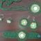 Sotetzold szett gyongyokkel kivarva 20120216443