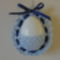 kék tojáskosár