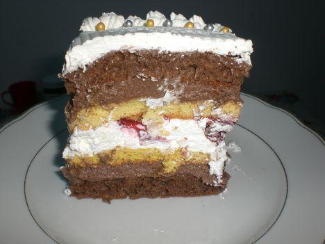 csoki kremes torta