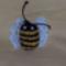 méhecske - kulcstartó