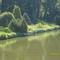 egy tó az arborétumban