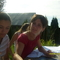 Nata Rami és Evelin batikolnak