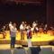 Kiss Laci-Cecília-Johan János és zenekara a rádiófelv.szünetében