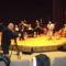 Tvfelvétel közben Cilike-Johan János és zenekara