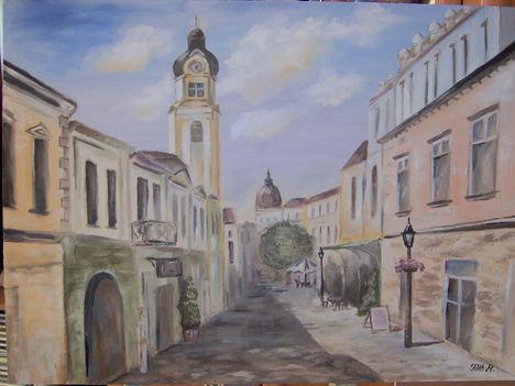 Utca Pécsen
