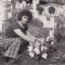 Édesanyám sirjánál, 1975