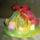 húsvéti tojások fonalgrafikával