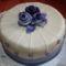 Kékes torta :)