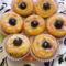 Fekete szedres muffin