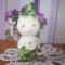 Harangvirág csörgőcske - amigurumi