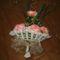 rózscsokor horgolva