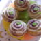 Mákos meggyes muffin