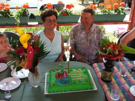 50. éve vagyunk házasok
