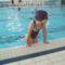 Bogikám az iskolai úszóversenyen