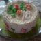szamócás torta