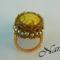 tojáshéj sárga gyűrű