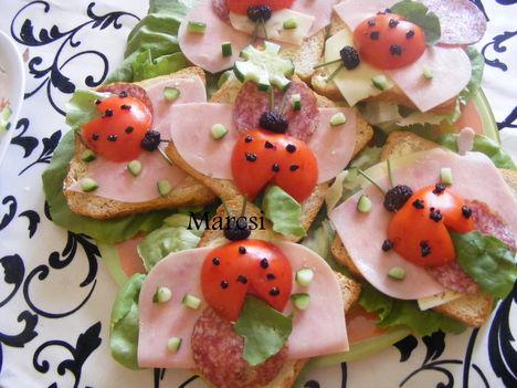 Katicabogaras szendvicsek 2