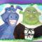 Festett torták  Shrek és Szamár
