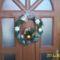 2011.bejárati ajtódísz karácsonyra
