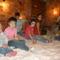 gyerekek a sótaposóban