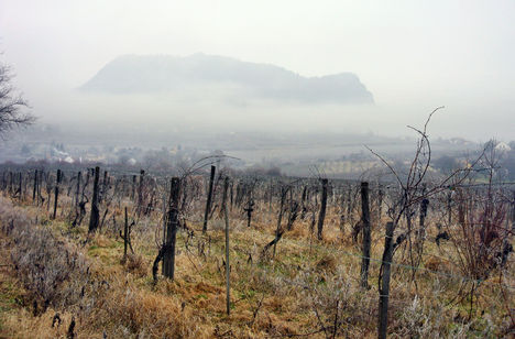Ködpaplanban a Szent Görgy-hegy