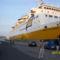 Ezzel a hatalmas Katamarán hajóval utaztunk a szigetre oda- vissza, fele volt 4,5 óra, vissza ugyan igy.