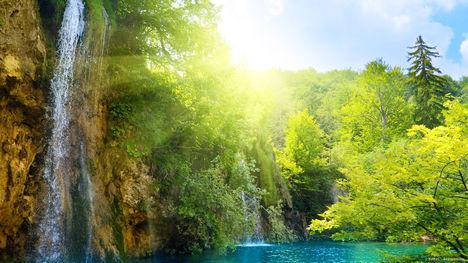 Horvátország, Plitivcei tavak