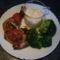 sajtmártásos csirke