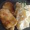 mézes mustáros hús +szaftos krumpli