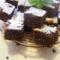 Tojás nélküli csokis kocka