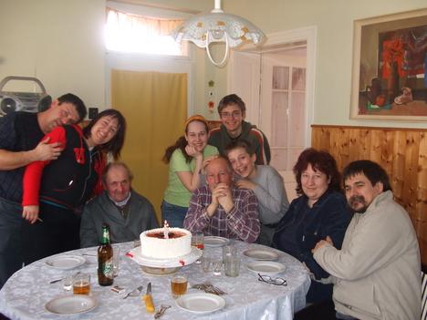 A szűkebb családom