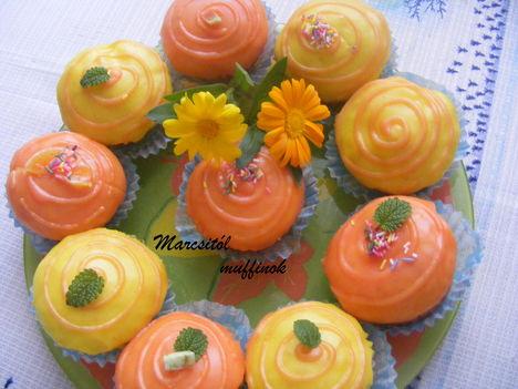 Citromos narancsos muffin