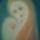Mária a gyermekkel olaj vászon 30x40 cm