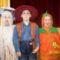 Három fiú unokám jelmezben Balu, Saca, Lalika