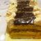 Narancshabos torta szeletek