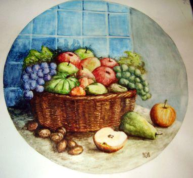 Gyümölcsös kosár50x50