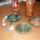 váza,teknős,tálkák