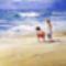 Gyermekek a tengerparton