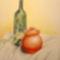 Mézescsupor üveggel