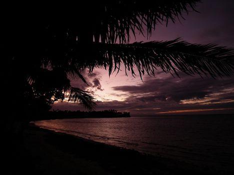 Fiji naplemente