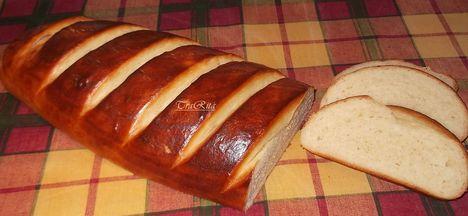 kefíres fokhagymás kenyér