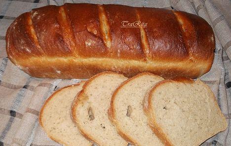 rozsos kenyér kész lisztből