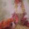 Az örök nő  55×70 cm szines ceruza -pasztell