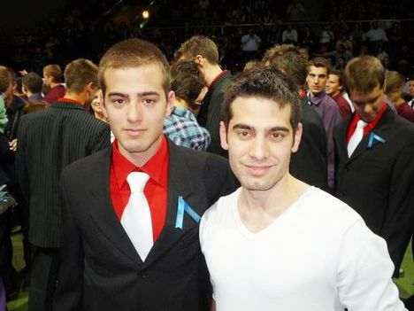 Dani-Ádám a két nagy unokám