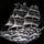 Gravírozott fregatt