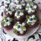 Csokis muffin áfonyával