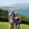 Háttérben a Genfi-tó