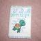Kisfiam egészségügyi kiskönyvének borítója
