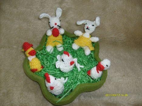 húsvéti család